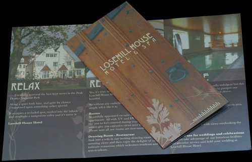 losehill house hotel brochure